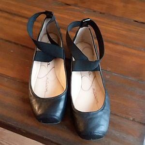 Jessica Simpson leather ballet flats, sz. 6.5
